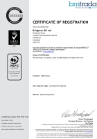 Bridgman IBC Ltd PEFC 2018